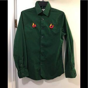 Express button down shirt men's small 🍏